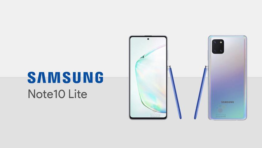 Samsung Galaxy Note 10 Lite показался на «живых» фотографиях