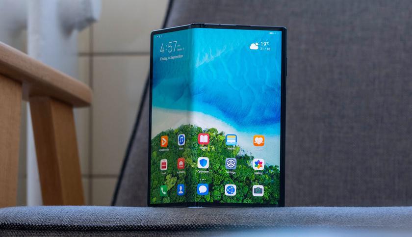 Источник: Huawei не выпустит в этом году складной смартфон Mate X2 из-за санкций США