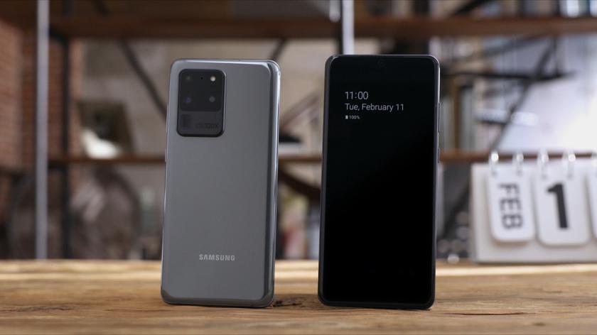 Практически совершенство: дисплей Samsung Galaxy S20 Ultra признан лучшим на рынке смартфонов