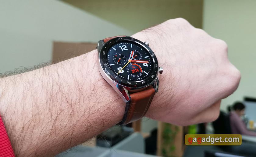 Обзор Huawei Watch GT  выносливые умные часы с обилием фитнес-функций 4e4d186f5d728