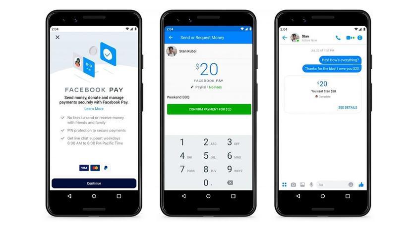 Facebook Pay: платёжный сервис для WhatsApp, Instagram и Facebook