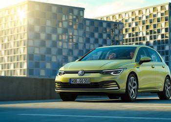 Volkswagen представили Golf нового поколения, включая гибридные варианты