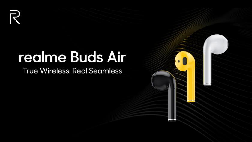 Realme 17 декабря покажет беспроводные TWS-наушники Buds Air с автономностью до 17 часов, портом USB-C и беспроводной зарядкой