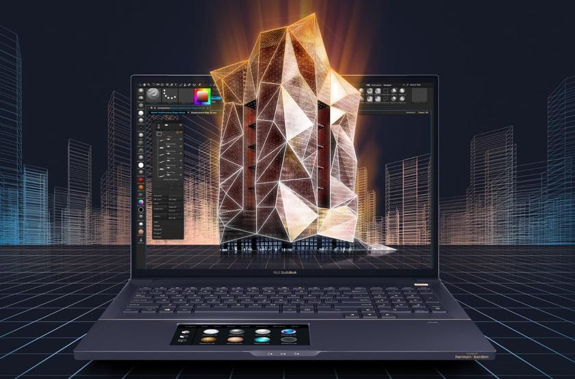 ASUS привезла в Украину ноутбуки серии ProArt StudioBook