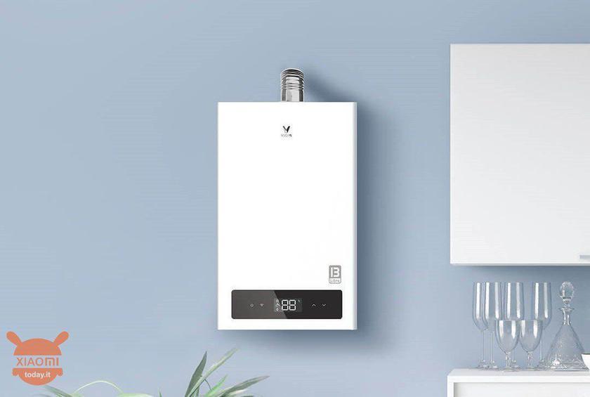 Xiaomi выпустила «умную» газовую колонку за $130