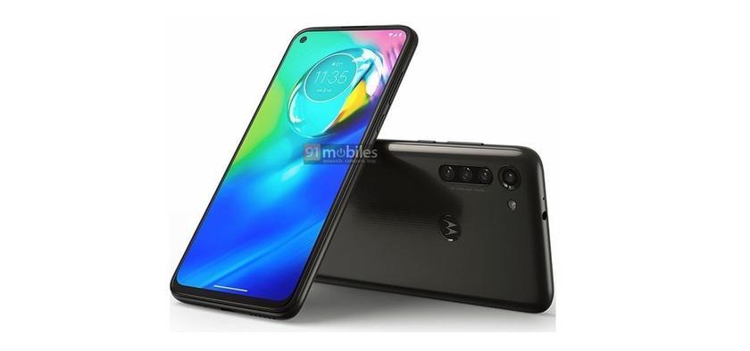 Неизвестный смартфон Motorola со стилусом и Moto G8 Power появились на рендерах: «дырявые» экраны и квадро-камеры
