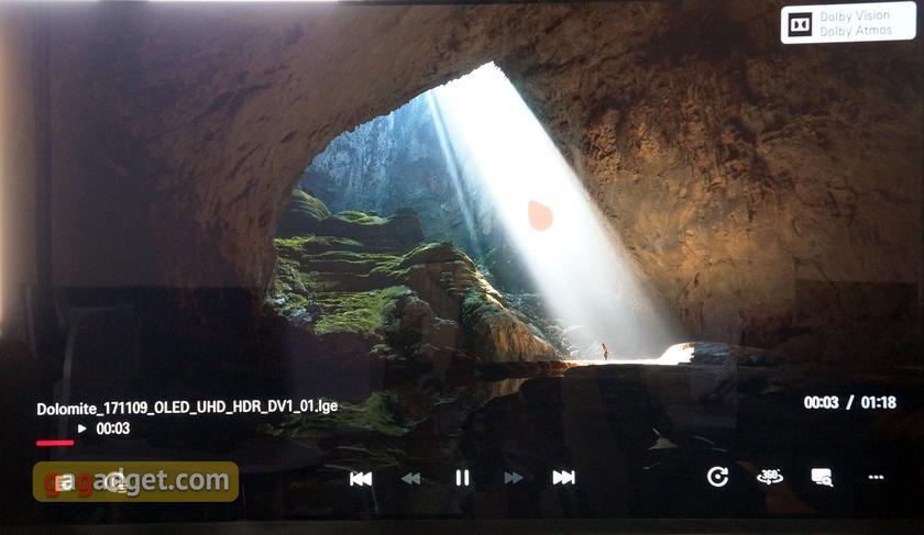 Обзор LG OLED65E8PLA: OLED-телевизор с максимальным набором новых технологий-68