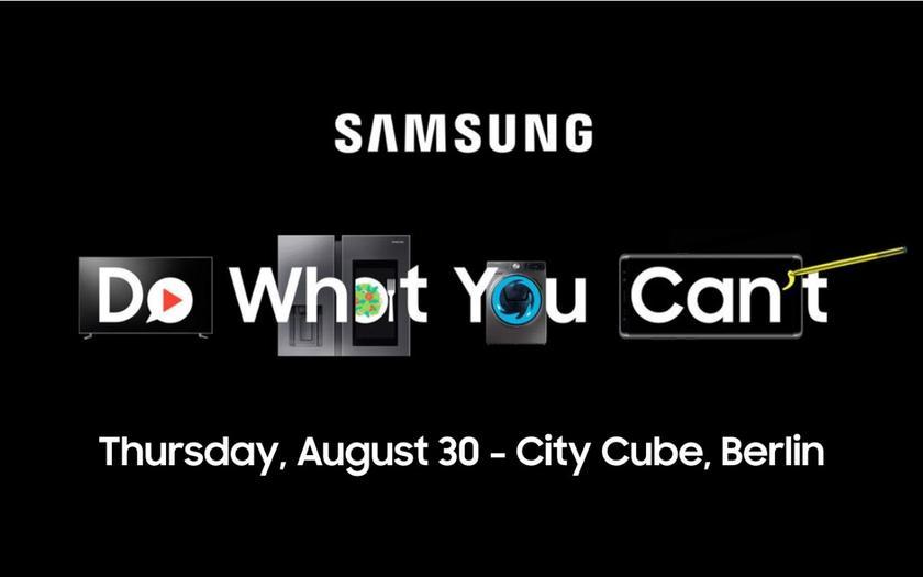 Samsung готовит еще одну презентацию 30 августа
