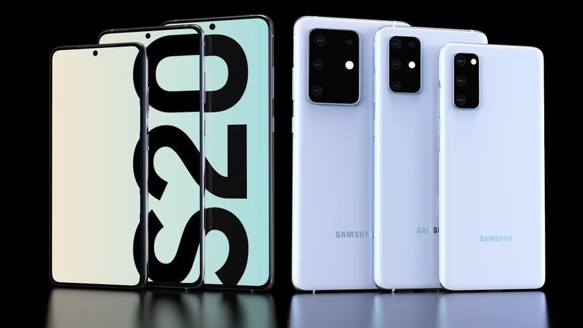 В сети появились подробные характеристики Samsung Galaxy S20, Galaxy S20 Plus и Galaxy S20 Ultra