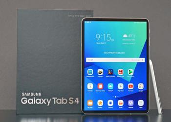 Tablet Samsung Galaxy Tab S4 will receive a powerful filling and organic AMOLED QHD + screen