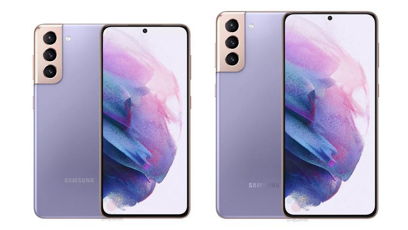 Раскрыты полные характеристики Samsung Galaxy S21 и Galaxy S21+: разница только в размерах и емкости аккумулятора