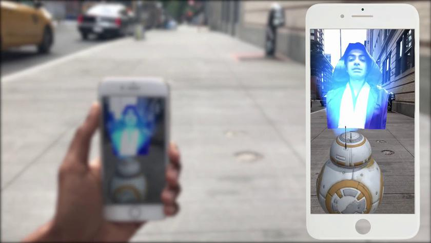 "Holo Messenger application can turn video and selfi into holograms from ""Star Wars"""