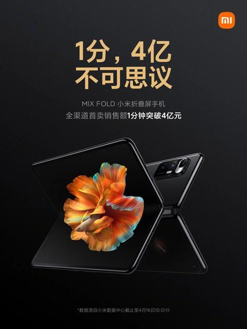 Спрос есть: складной Mi Mix Fold помог Xiaomi заработать более $61 миллиона всего за 1 минуту