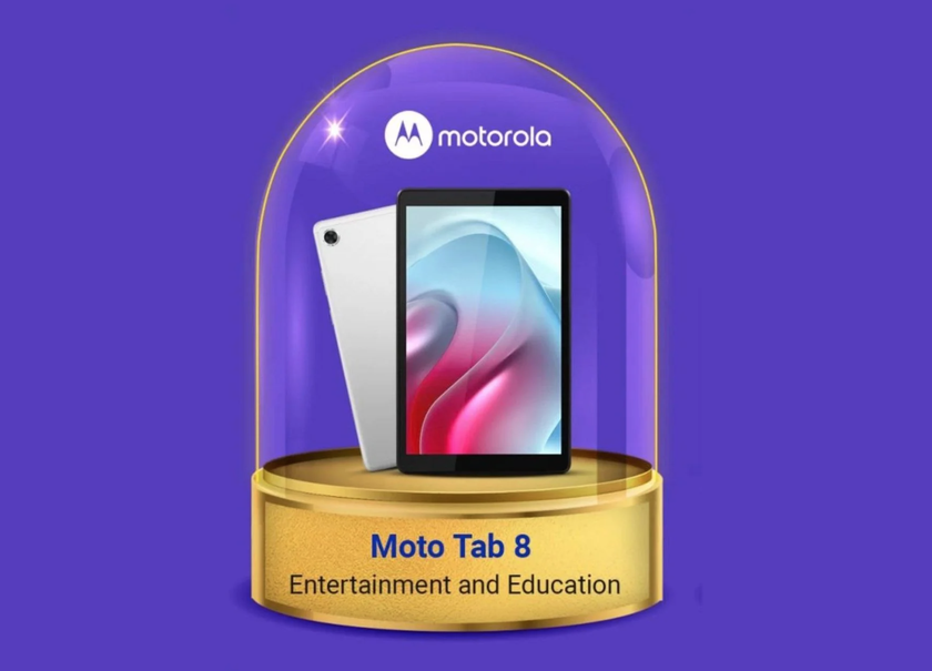Motorola начала тизерить выход Moto Tab 8, это может быть переименованная версия планшета Lenovo
