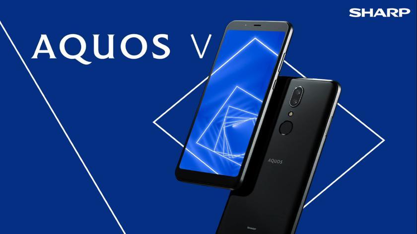 Sharp AQUOS V: IPS-дисплей на 5.93 дюйма, чип Snapdragon 835, двойная камера на 13 Мп и ценник в $230