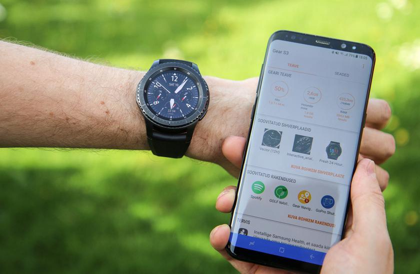 «Умные» часы Samsung Galaxy Watch покажут вместе с Galaxy Note 9