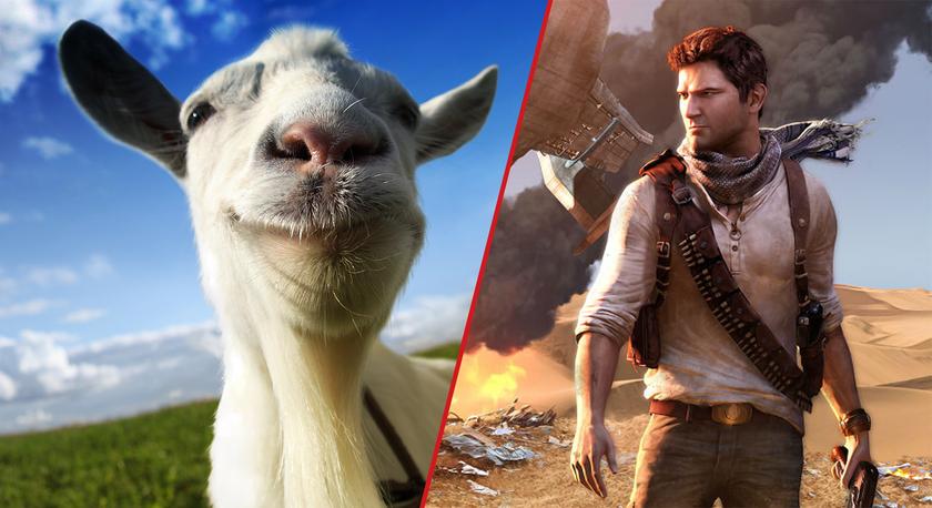 Бесплатные игры поPSPlus в январе: забирай Uncharted The Nathan Drake Collection иGoat Simulator