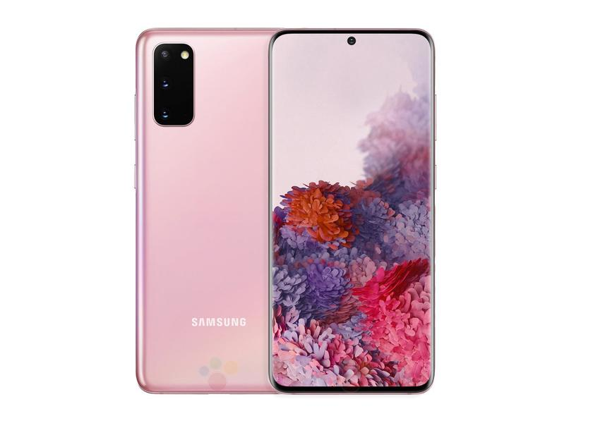 Samsung Galaxy S20 в новом цвете на официальных рендерах