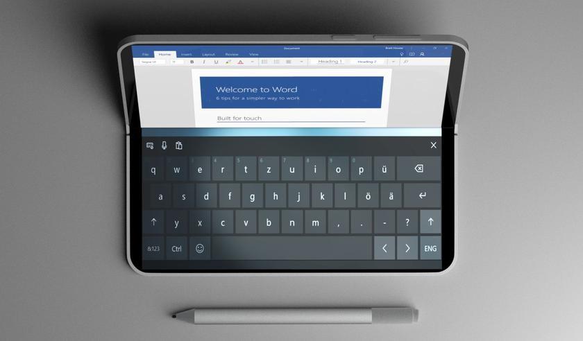 Складной планшет Microsoft Andromeda не выйдет в этом году (или вообще никогда)
