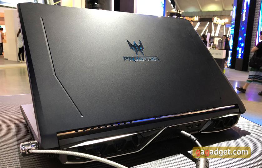 Computex 2018: новые игровые ноутбуки и системные блоки Acer своими глазами-7