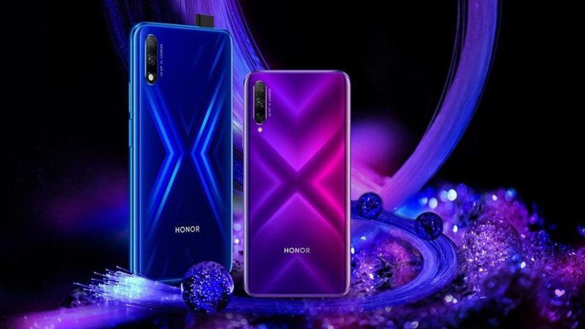 В Украине стартуют продажи Honor 9X с выдвижной камерой — 6999 грн, еще и Honor Band 4 Running в подарок