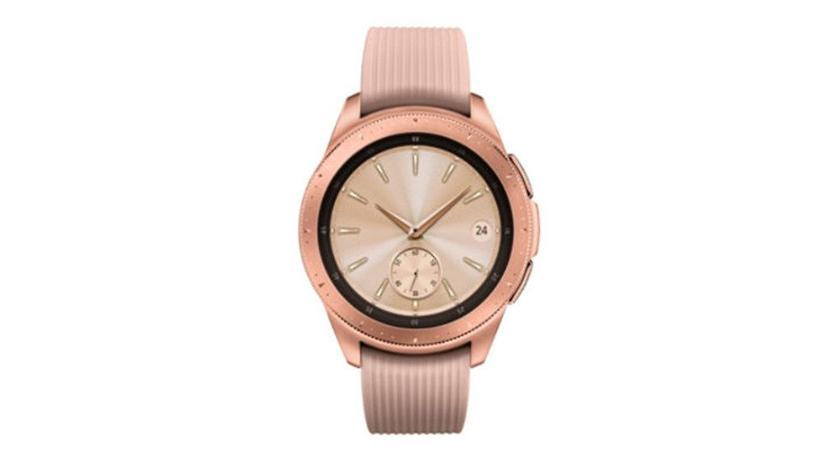 Смарт-часы Galaxy Watch в цвете Rose Gold показались на официальном сайте Samsung