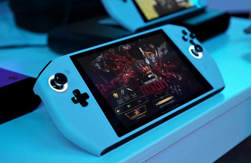 CES 2020: Dell представила Concept UFO— портативный игровой ПКвформ-факторе Nintendo Switch