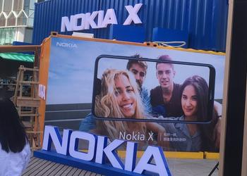 "HMD showed a smartphone Nokia X (X6) with a ""bang"" and a dual camera"
