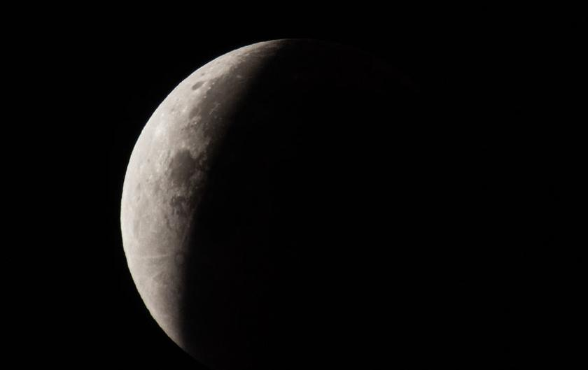 The NASA will show a very rare lunar eclipse on the air