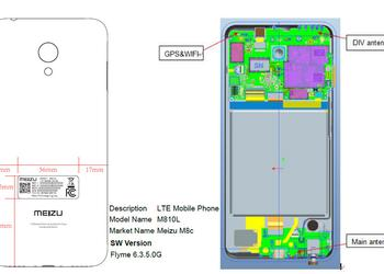 Budget smartphone Meizu M8c has passed FCC certification