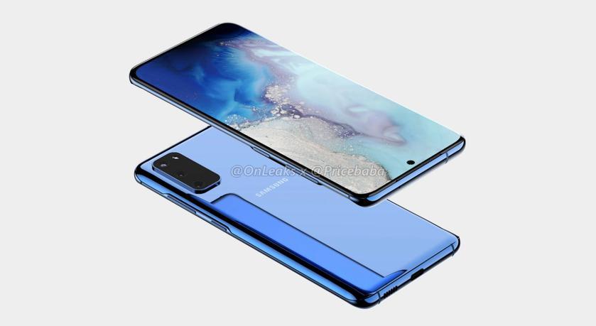 Samsung Galaxy S11e на рендерах: тройная камера, дисплей с закруглёнными краями и вырез по центру, как у Galaxy Note 10