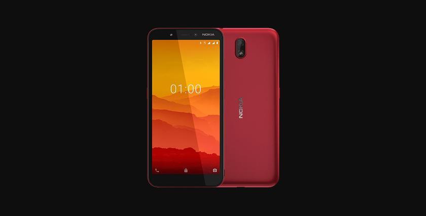 Nokia C1: ультрабюджетный смартфон на Android Go с 5.45-дюймовым экраном, поддержкой 3G и ценником в $60