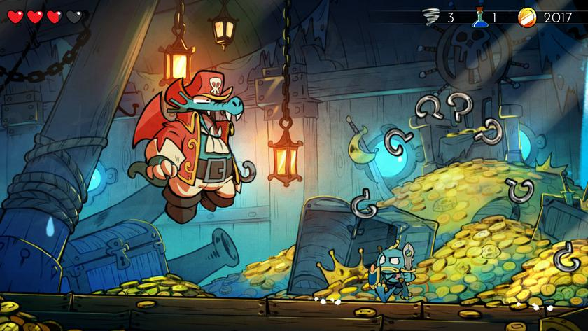 Культовый платформер Wonder Boy: The Dragon's Trap выйдет на Android и iOS