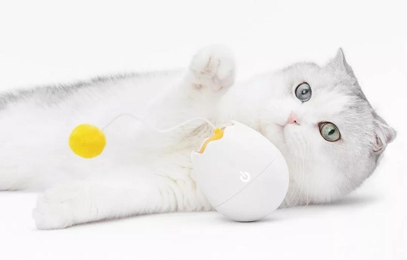 Xiaomi FurryTail Toy: умная игрушка для кошки за $13