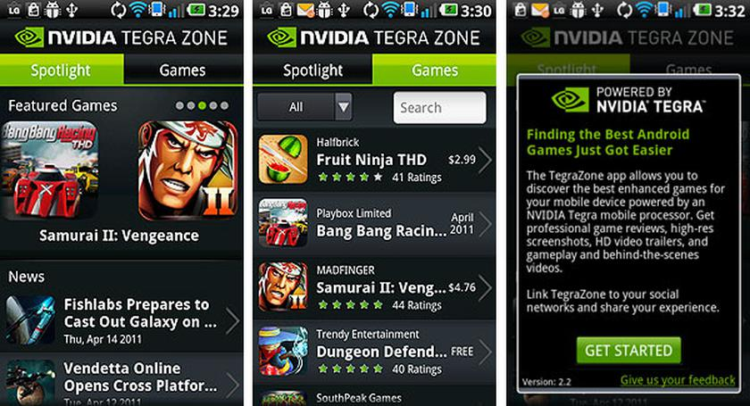 Приложения в Google Play – NVIDIA Tegra Zone