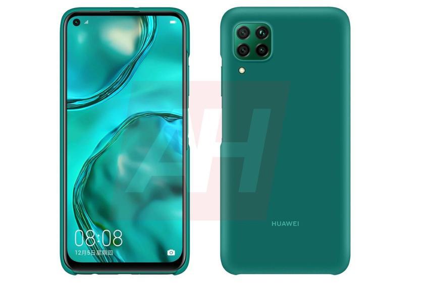 Huawei Nova 6 SE появился на качественных рендерах с вырезом в экране и камерой, как у iPhone 11