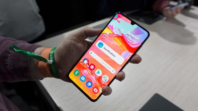 Samsung Galaxy A70 начал получать обновление Android 10 с оболочкой One UI 2.0