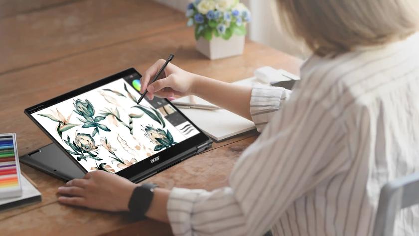Acer Spin 3 и Acer Spin 5: сенсорные дисплеи c поддержкой стилуса, чипы Intel Core 11-го поколения и ценник от 29 999 грн