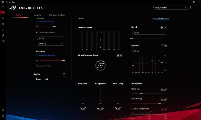 Обзор ASUS ROG Delta S: универсальная геймерская гарнитура с Hi-Res звуком и шумоподавлением-26