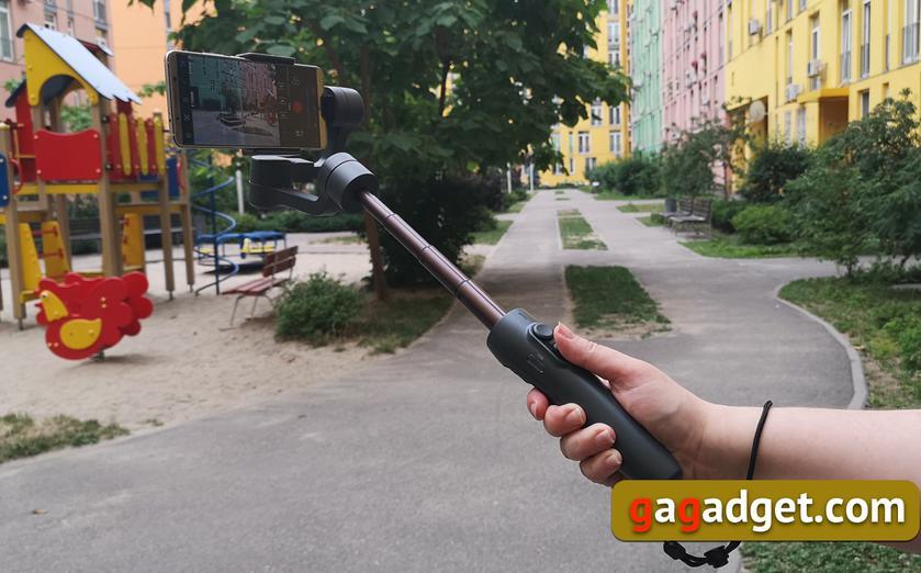 Обзор FeiyuTech Vimble 2: селфи-палка с двигателем