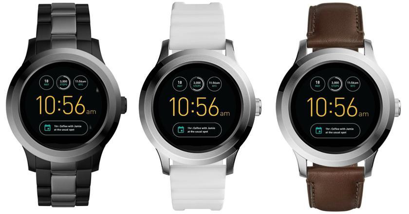 Семь моделей «умных» часов Fossil на Wear OS прошли сертификацию FCC