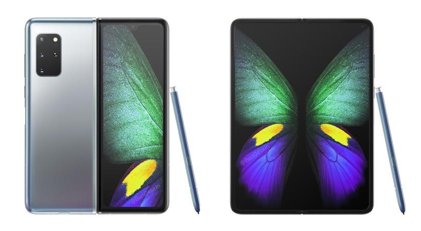 Инсайдер: Galaxy Z Fold 2 (aka Galaxy Fold 2) получит камеру от Galaxy S20+, новый стилус S Pen и внешний дисплей Infinity-V