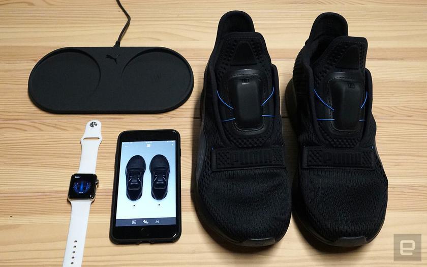 Puma тоже представила кроссовки с автоматической шнуровкой и управлением со  смартфона cf017ca4de3