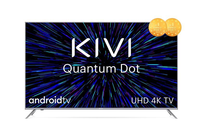 KIVI выпустила 1000 Android-телевизоров на квантовых точках только для украинского рынка