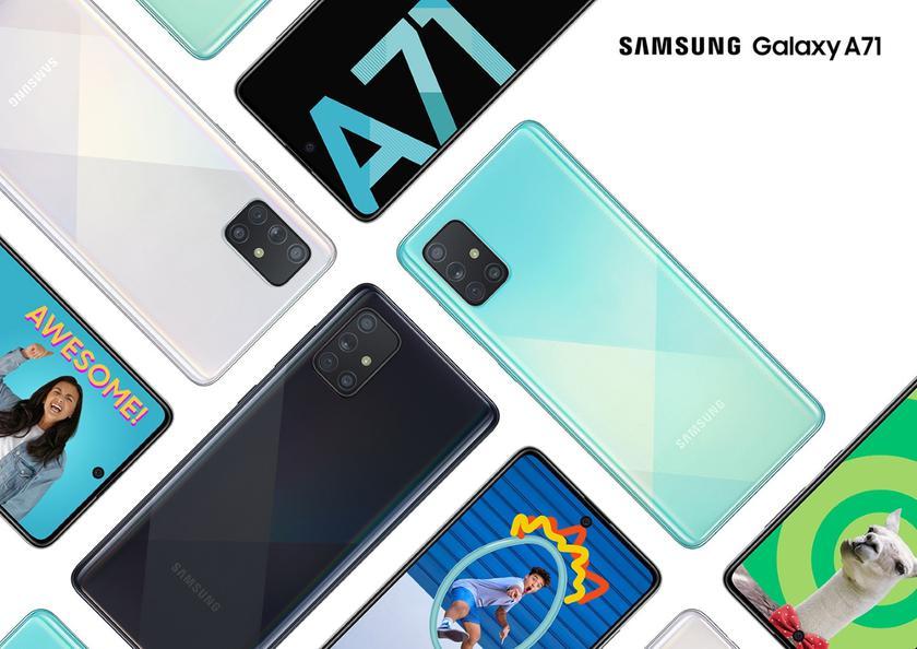 5G-версию Samsung Galaxy A71 заметили в Geekbench с чипом Exynos 980