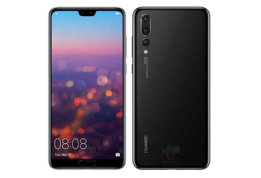 New flagship Huawei P20 Pro renderers confirm the triple Leica camera and the abundance of colors