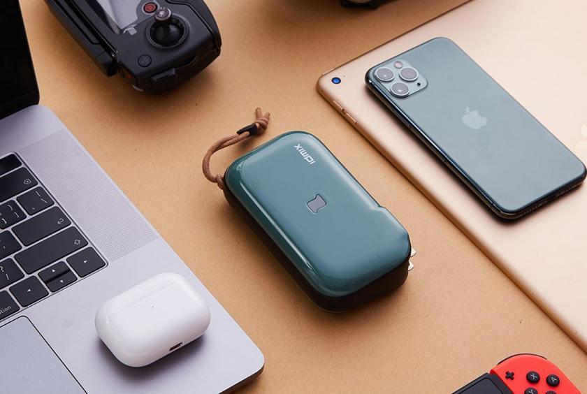 Xiaomi IDMIX Mr Charger CH06: многофункциональная переносная батарея на 10 000 мАч, которую можно использовать как адаптер питания