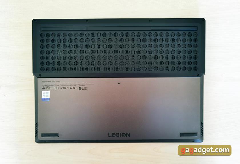 Обзор Lenovo Legion Y740: мощь RTX в стильном корпусе-16
