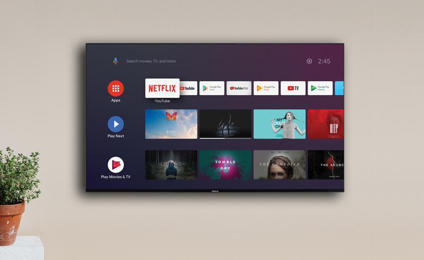 Nokia Smart TV представили в Европе: 7 моделей с диагоналями 32-75 дюймов, Android TV на борту и ценником от €399