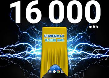 On MWC 2018 Energizer will present a smartphone Power Max P16K Pro with a battery capacity of 16000 mAh